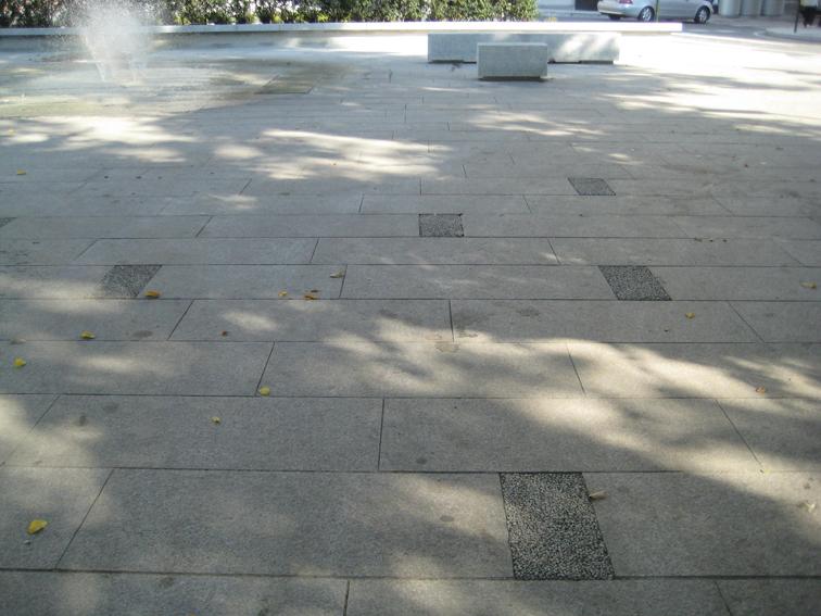 Cluster granito asociaci n cluster granito centro - Pavimento piedra natural ...